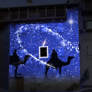 Rango Christmas Projection artist impression