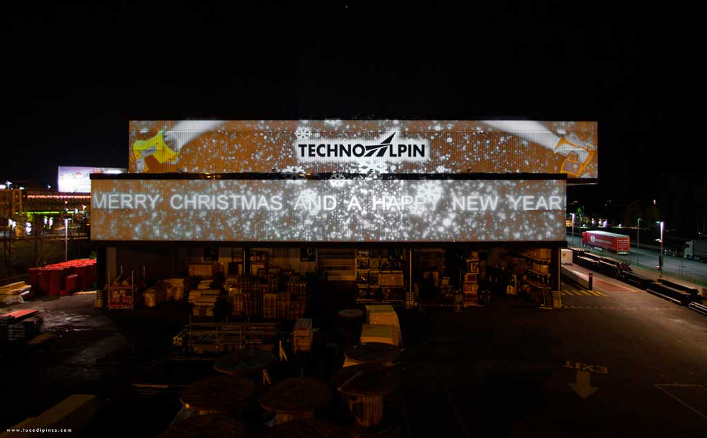 Architectural projection for TechnoAlpin